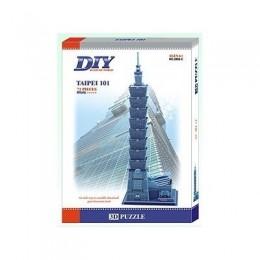 Taipei 101 Skyscraper 3D Пъзел