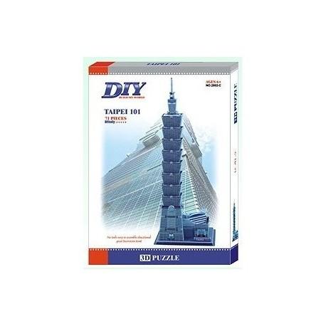 Taipei 101 Skyscraper 3D- Educational Puzzle