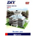 White House Model 3D- Educational Puzzle