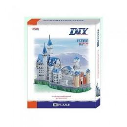 Neuschwanstein German Castle 3д пъзел 3D - Educational Puzzle