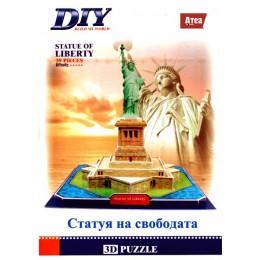 Statue of Liberty 3D Пъзел