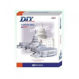 US Capitol HILL Model 3д пъзел 3D Educational Puzzle