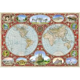 Пъзел - World Map