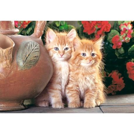 Пъзел - Red Kittens