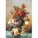 """Пъзел - """"Fleurs Sur Une Table"""", Jean-Baptiste Robie"""