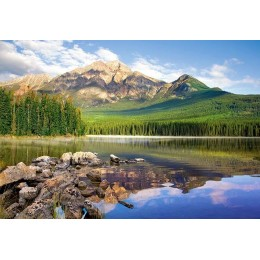 Пъзел - Pyramid Lake, Jasper National Park, Canada