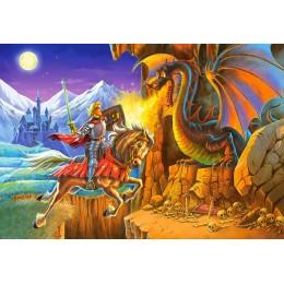 Пъзел - Battle with the Dragon
