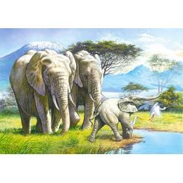 Пъзел - Elephant Family