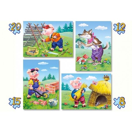 Четири пъзела: Трите прасенца