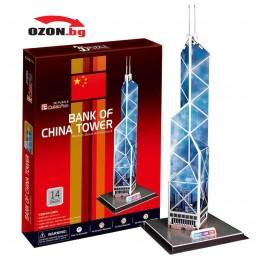 Триизмерен 3D пъзел Bank of China Tower(HongKong)