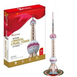 Оriental Pearl Tower - 3D