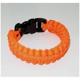 Гривна за оцеляване Paracord - COBRA Safety Orange
