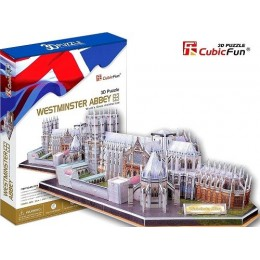 Westminster Abbey - 3D Пъзел